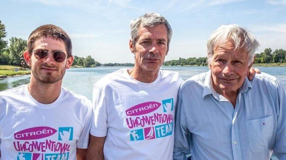 Navigatori italiani - Nico, Vittorio e Franco Malingri